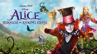 Netflix box art for Alice Through the Looking Glass